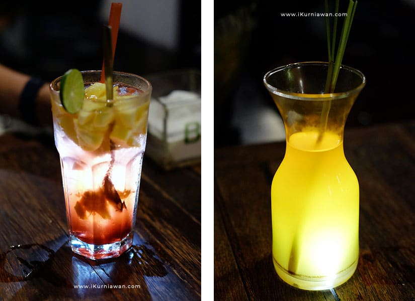 Minuman Segar di House Ramintan Yogyakarta