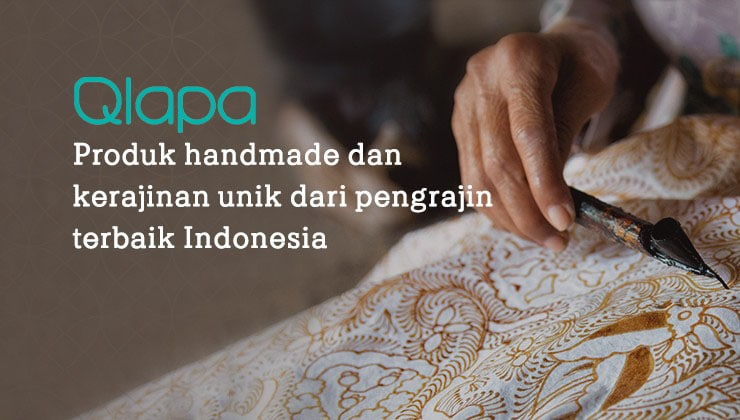 Qlapa Marketplace Produk Kerajinan Lokal