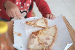 folded pizza calzone express bandar lampung