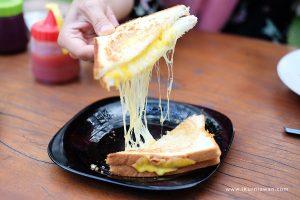 Cheese Bana Kafe Ajib's Kitchen Bandar Lampung