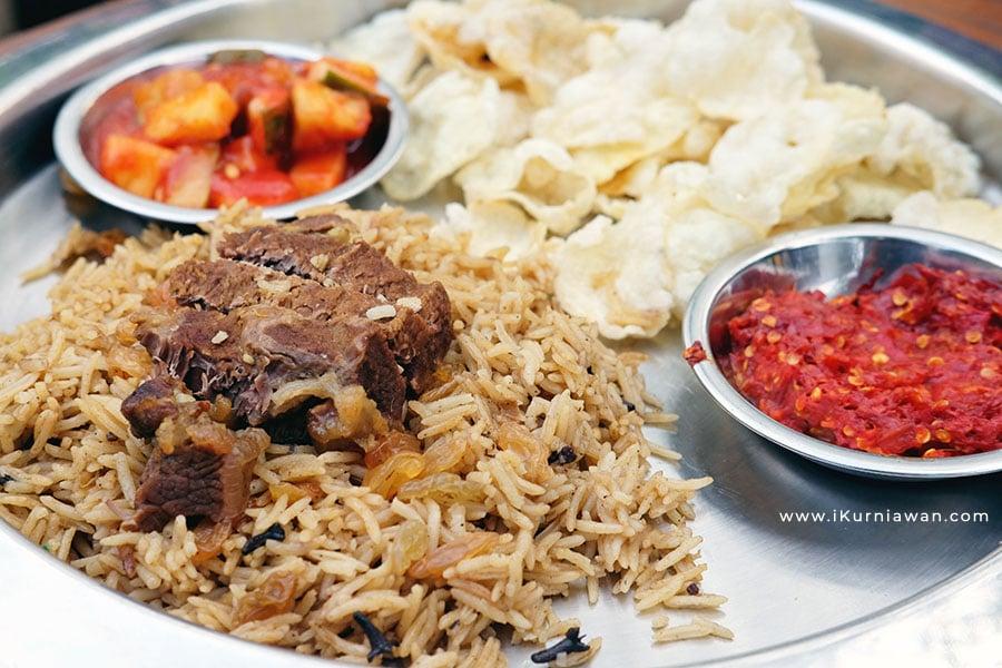 Nasi Kabsah Daging Kambing Ajib's Kitchen Bandar Lampung