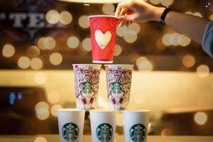 Ukuran Gelas Kopi di Starbucks