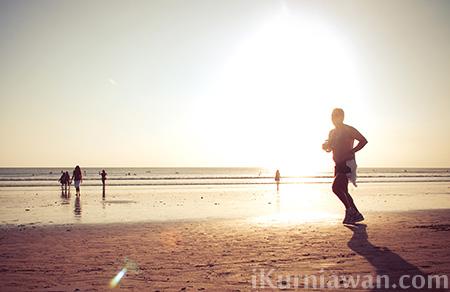 Tips cara lari dengan benar