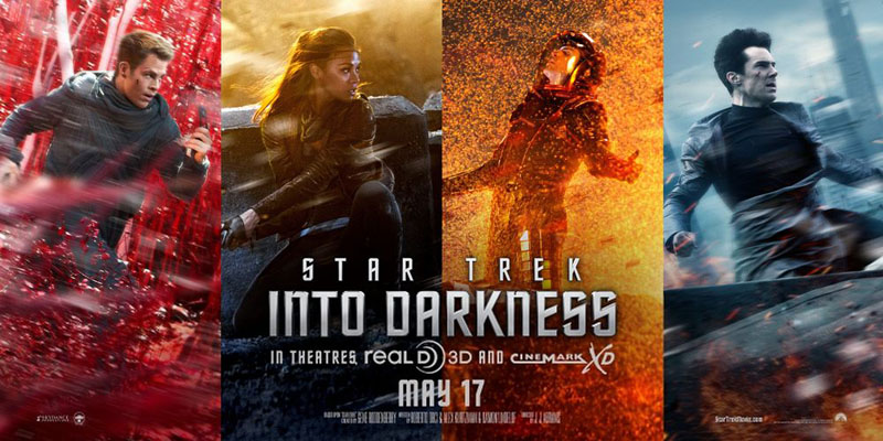 POster Film Star Trek Into Darkness