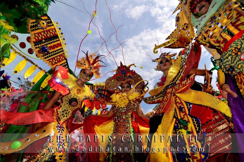 Festival Krakatau Lampung Tapis Carnival
