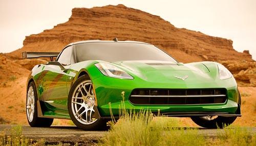 Corvette Untuk Film Transformers 4