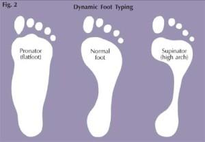 jenis dan tipe kaki