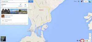 Google Maps Street Views di Bali Indonesia