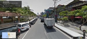 Jalan Kuta Bali Google Street Views