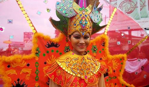 peserta lampung tapis carnival