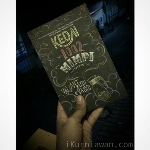 Review cerita buku kedai 1002 mimpi