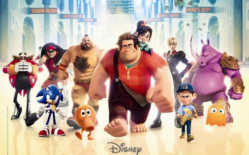 review wreck it ralph film disney