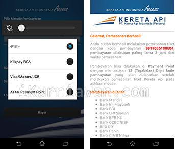 Pesan Tiket Kereta Dari Handphone