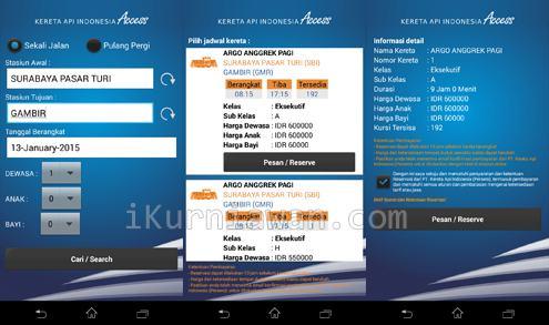 beli Tiket Kereta Api Android