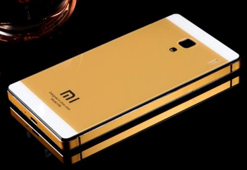 aluminium backcase redmi note