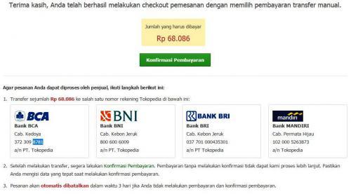 Tips belanja online aman di tokopedia
