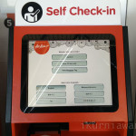 Menu Awal Mesin Self Check-In AirAsia