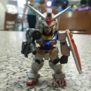 Gundam Converge RX-78-2 Bergaya di Food Court