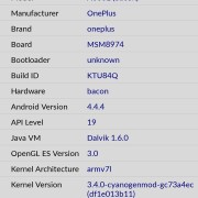 Hasil CPU-Z System Oneplus One Indonesia