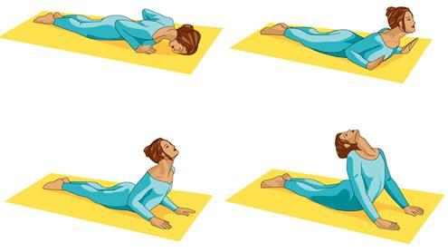 Pose Yoga Cobra Untuk Menambah Tinggi Badan