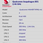 Spesifikasi Hardware Oneplus One Indonesia Dilihat Dengan CPU-Z