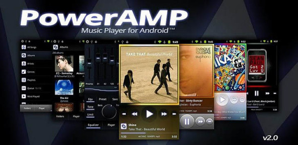 Download PowerAmp APK FULL Gratis