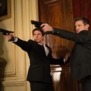 Foto Tom Cruise dan Jeremy Renner Film Terbaru