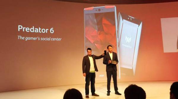 Acer Luncurkan Ponsel Predator 6
