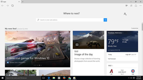 Review Microsoft Edge Windows 10
