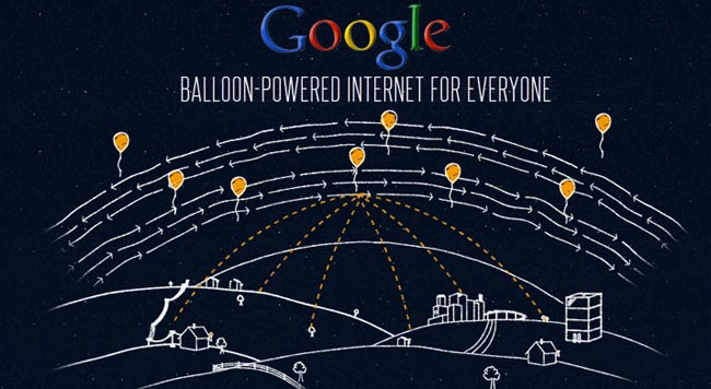 Balon Google Project Loon di Indonesia