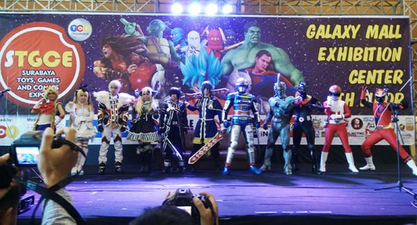 Foto Cosplay STGCE 2015 Surabaya Toys Fair