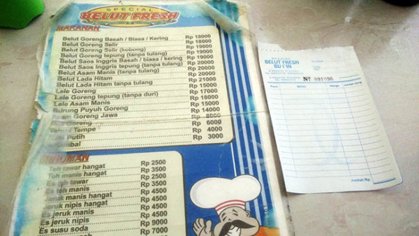 Harga Makanan Belut Fresh Surabaya