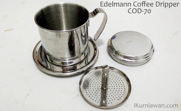 Review Coffee Dripper Edelmann COD-70
