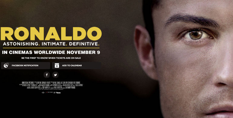 Review Film Dokumenter Ronaldo 2015