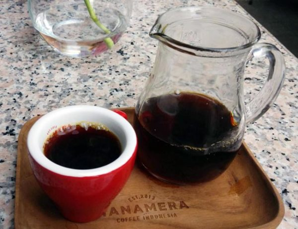 Manual Brew Coffee Tanamera