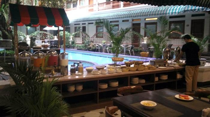 Fasilitas Sarapan Sahira Butik Hotel Bogor