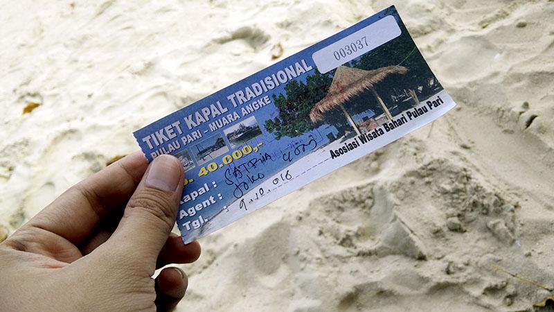 Harga Tiket Kapal ke Pulau Pari Kepulauan Seribu
