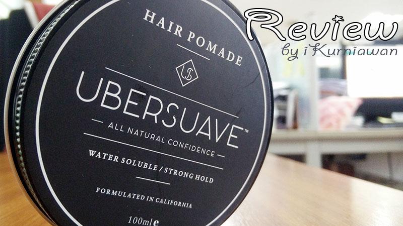 Review Pomade waterbased bagus tidak lengket
