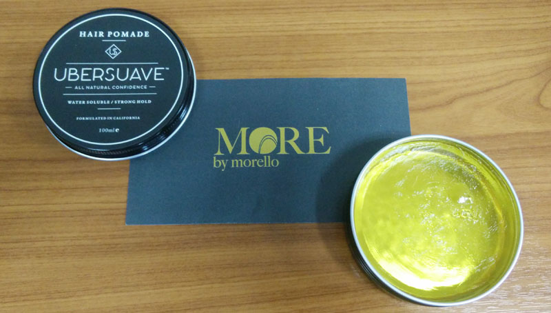 review pomade waterbased ubersuave