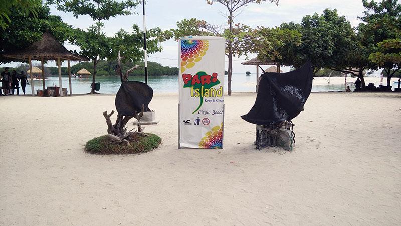 Wisata Pantai Perawan Pulau Pari Kepulauan Seribu