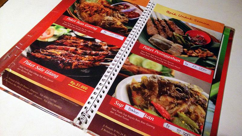Menu Makan Halal Bali be Pasih
