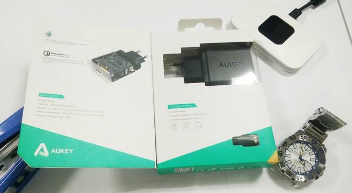 Aukey Quick Charge 3 Tokopedia