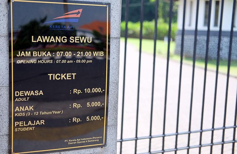 Harga Tiket Masuk Lawang Sewu Semarang