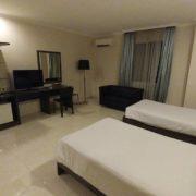 Kamar Twin Bed di Permata Hotel Bogor