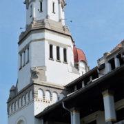 Menara Bangunan Lawang Sewu Semarang