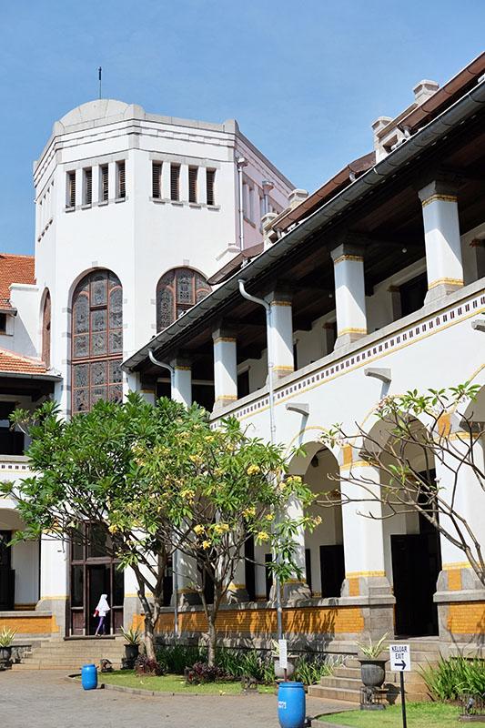 Sudut Bangunan Lawang Sewu Semarang