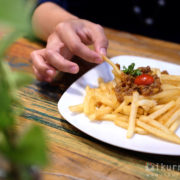 Bolognese French Fries Grannys Nest Bandar Lampung