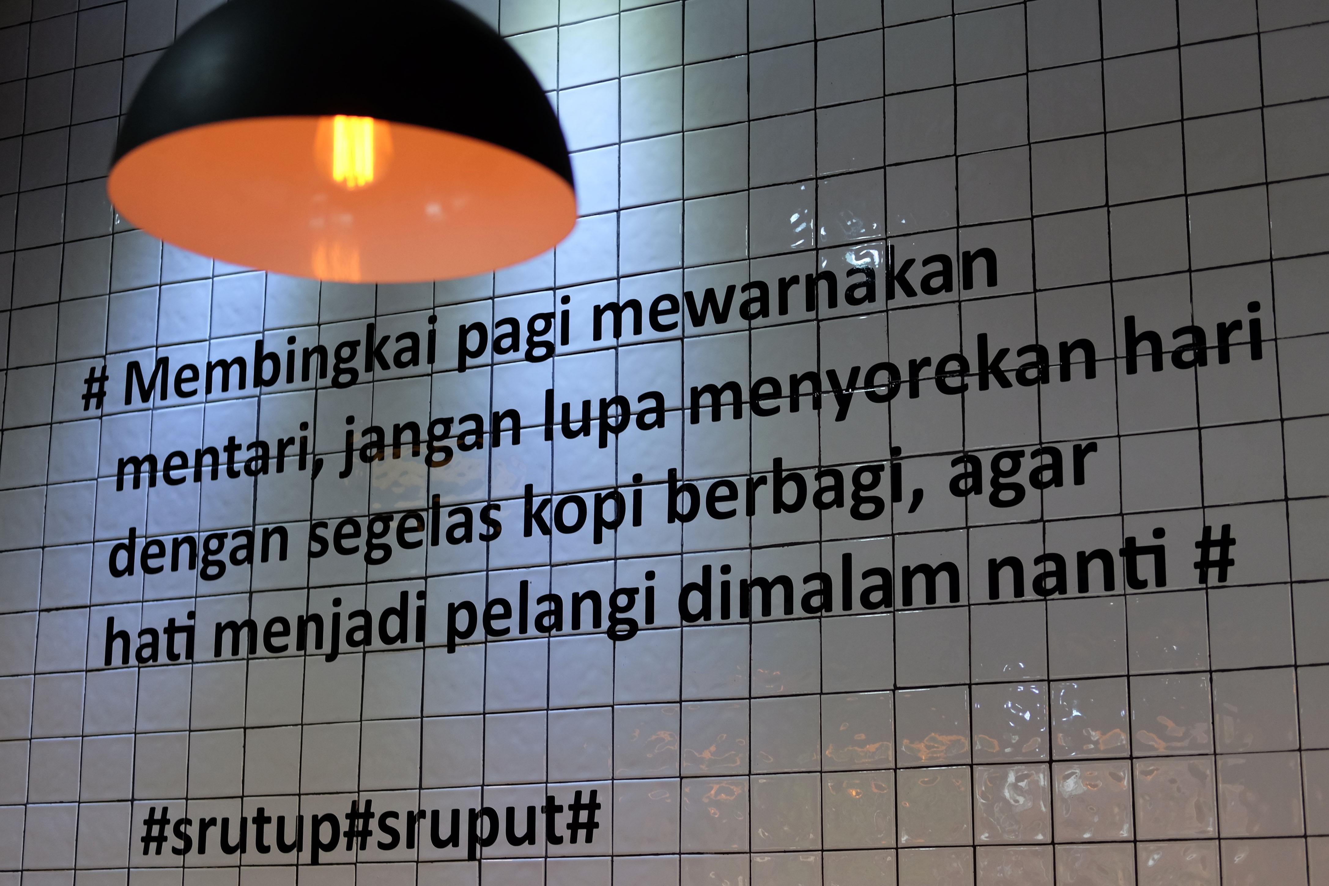 quotes kopi ornamen di Flipflop