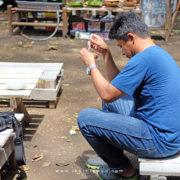 Fotografer Lampung Budi Martha Utama di Pasar Tahura