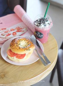 Maxx coffee strawberry latte food photography